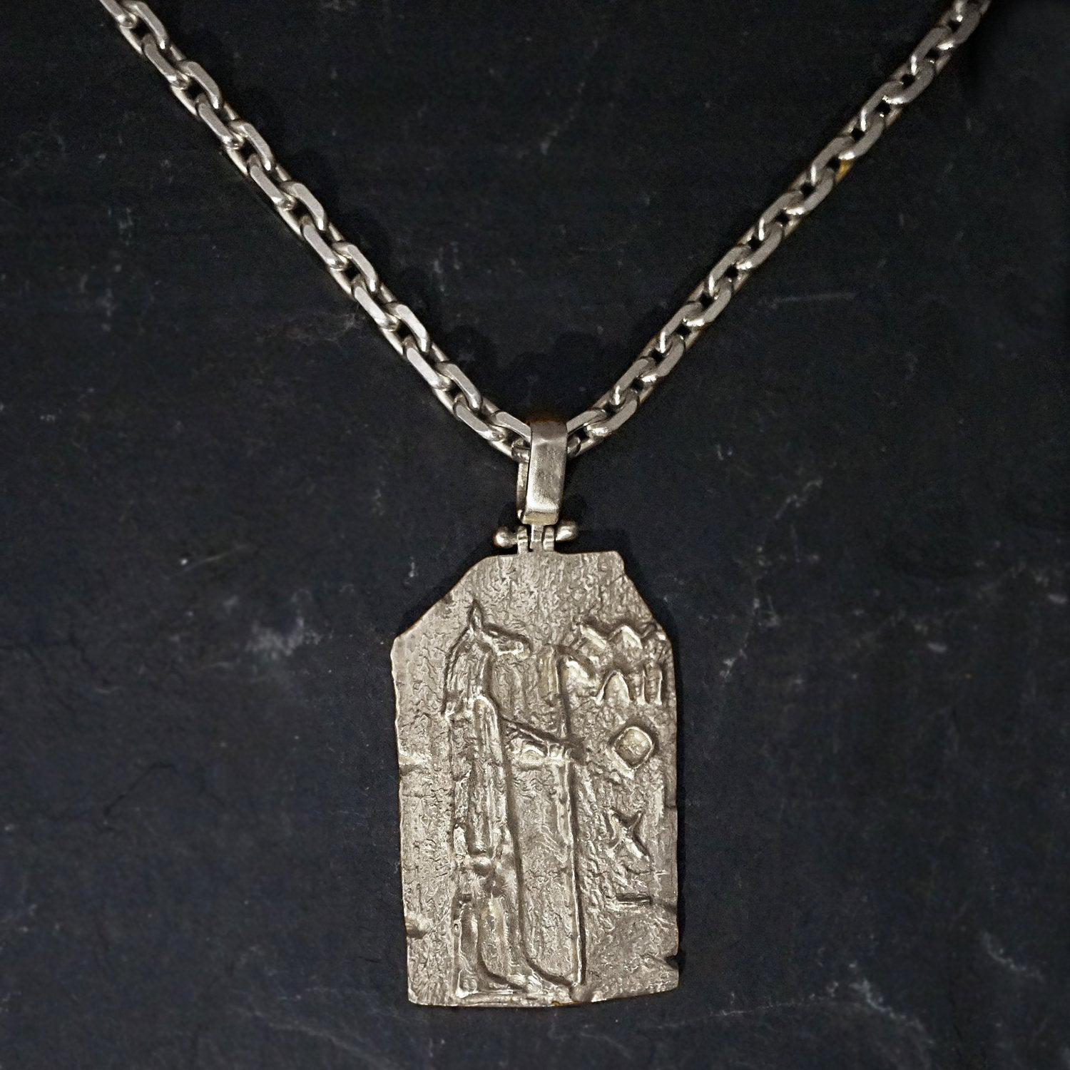 14K Anubis Egyptian Pendant - Tippy Taste Jewelry