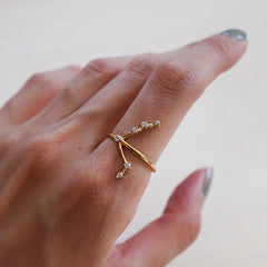 Aries Constellation Ring - Tippy Taste Jewelry