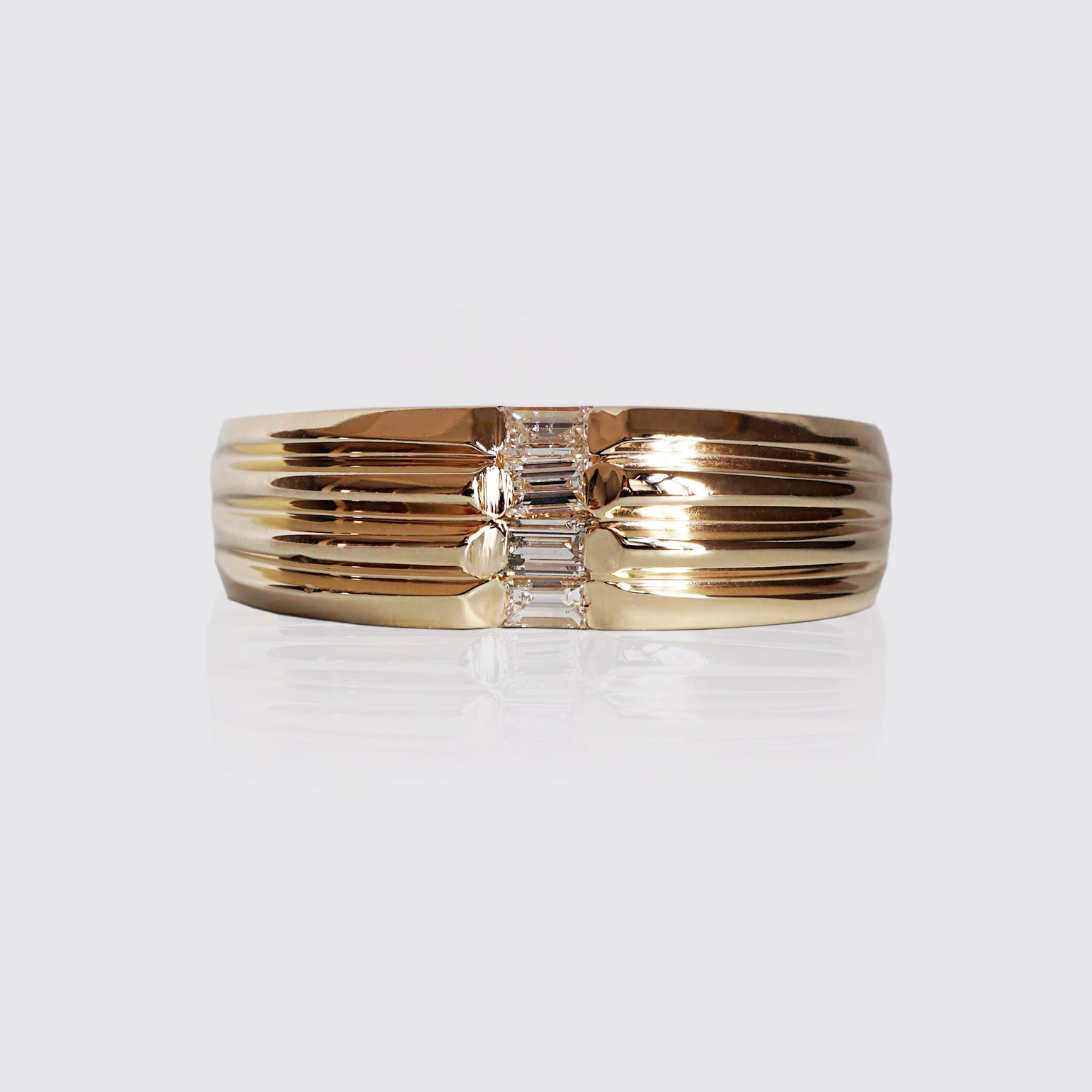 Limited Edition: Baguette Diamond Ring