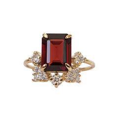 Bordeaux Garnet Ring