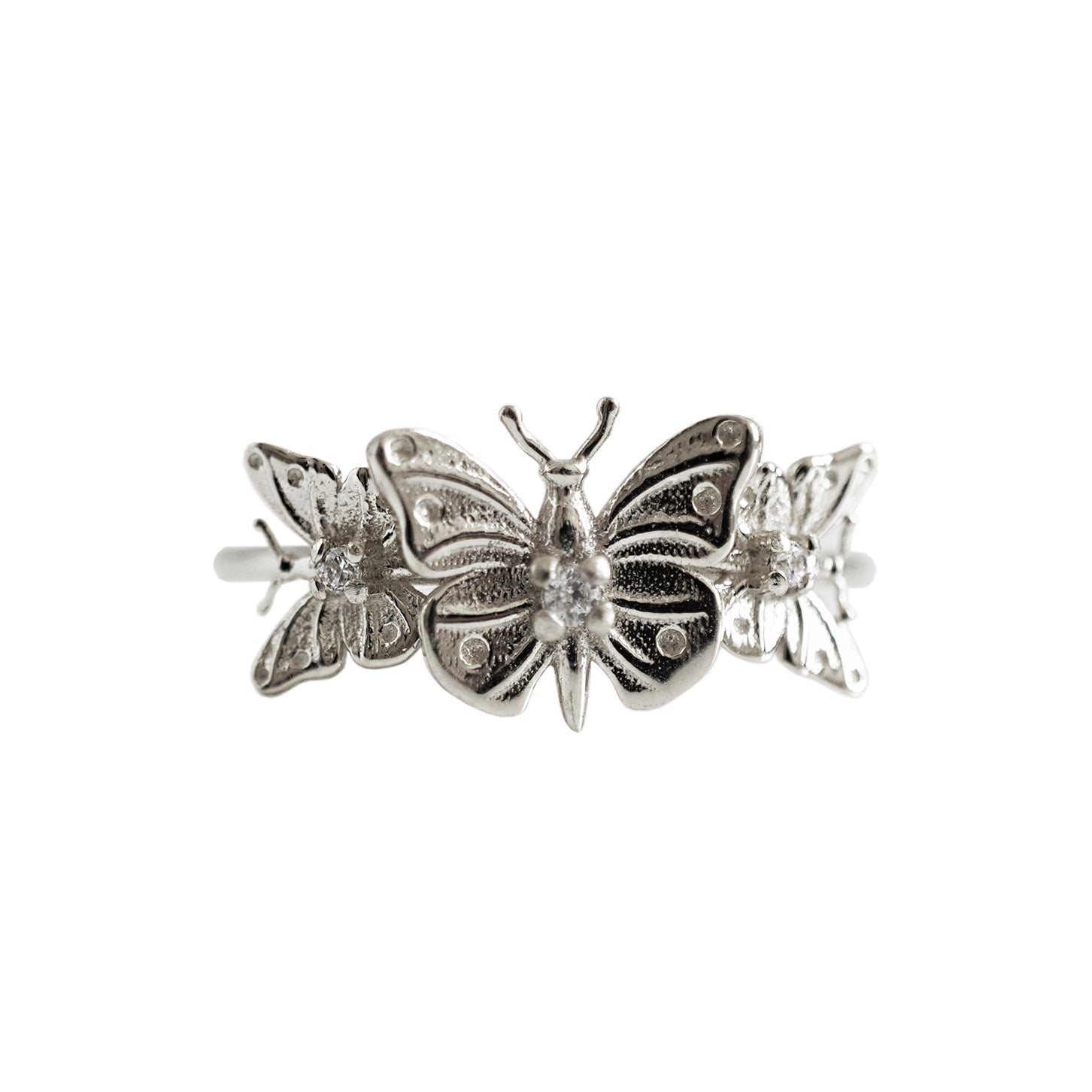 14K Butterfly Hope Ring