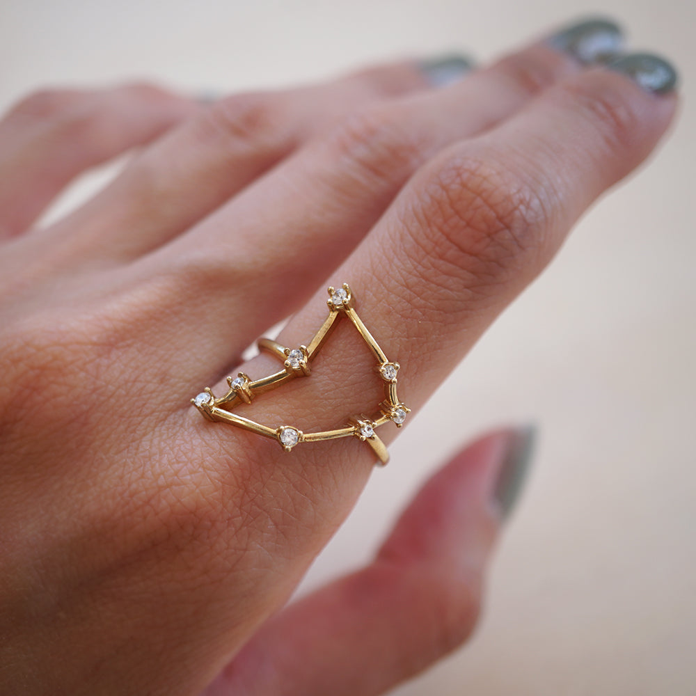 Capricorn Constellation Ring - Tippy Taste Jewelry