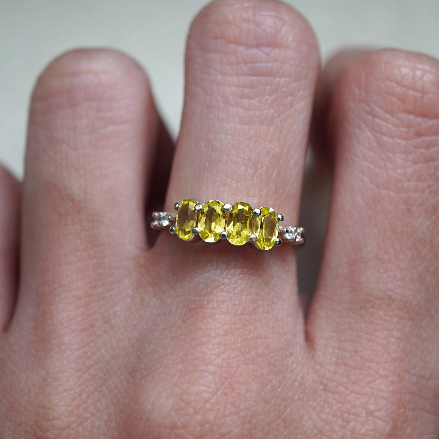 November Citrine Ring - Tippy Taste Jewelry