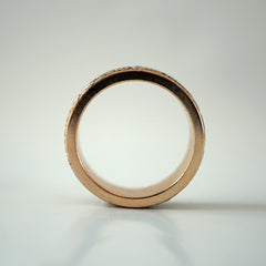 Clockmaker Ring Band, 8mm