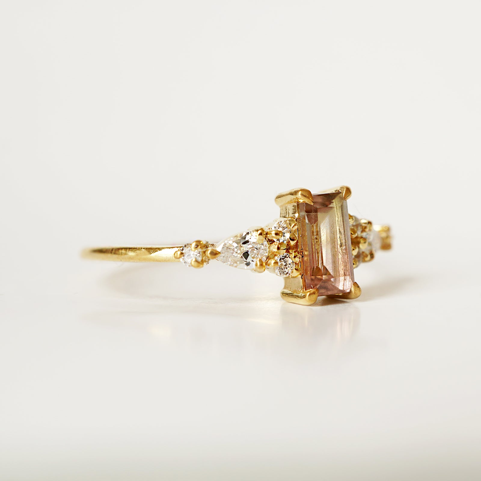 Limited Edition: Little Tourmaline Crown Ring