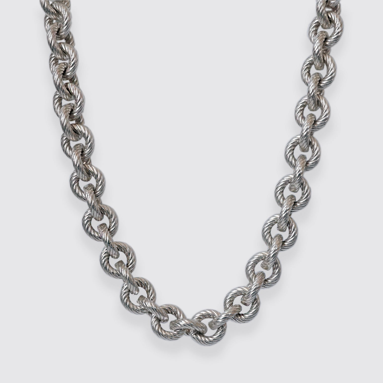 Sailor Cable Twist Chain Necklace, 6.8mm