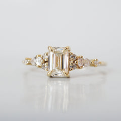 Ophelia Snow Diamond Ring, 0.66ct