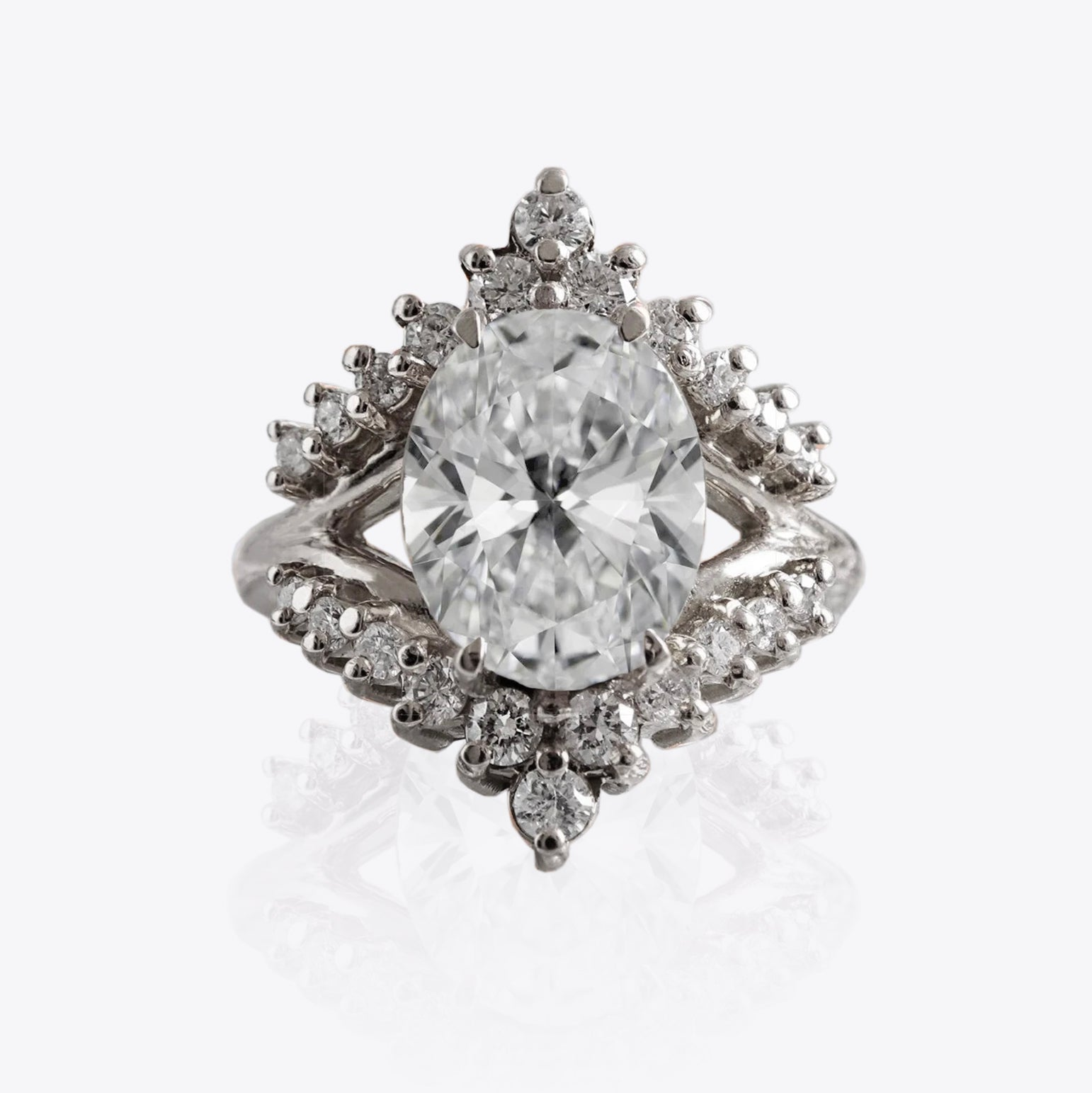 Tiara Diamond Ring, 2.51ct