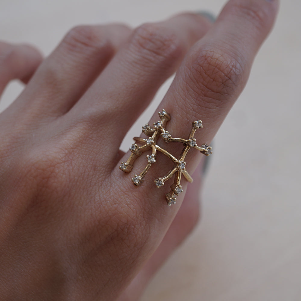 Gemini Constellation Ring - Tippy Taste Jewelry