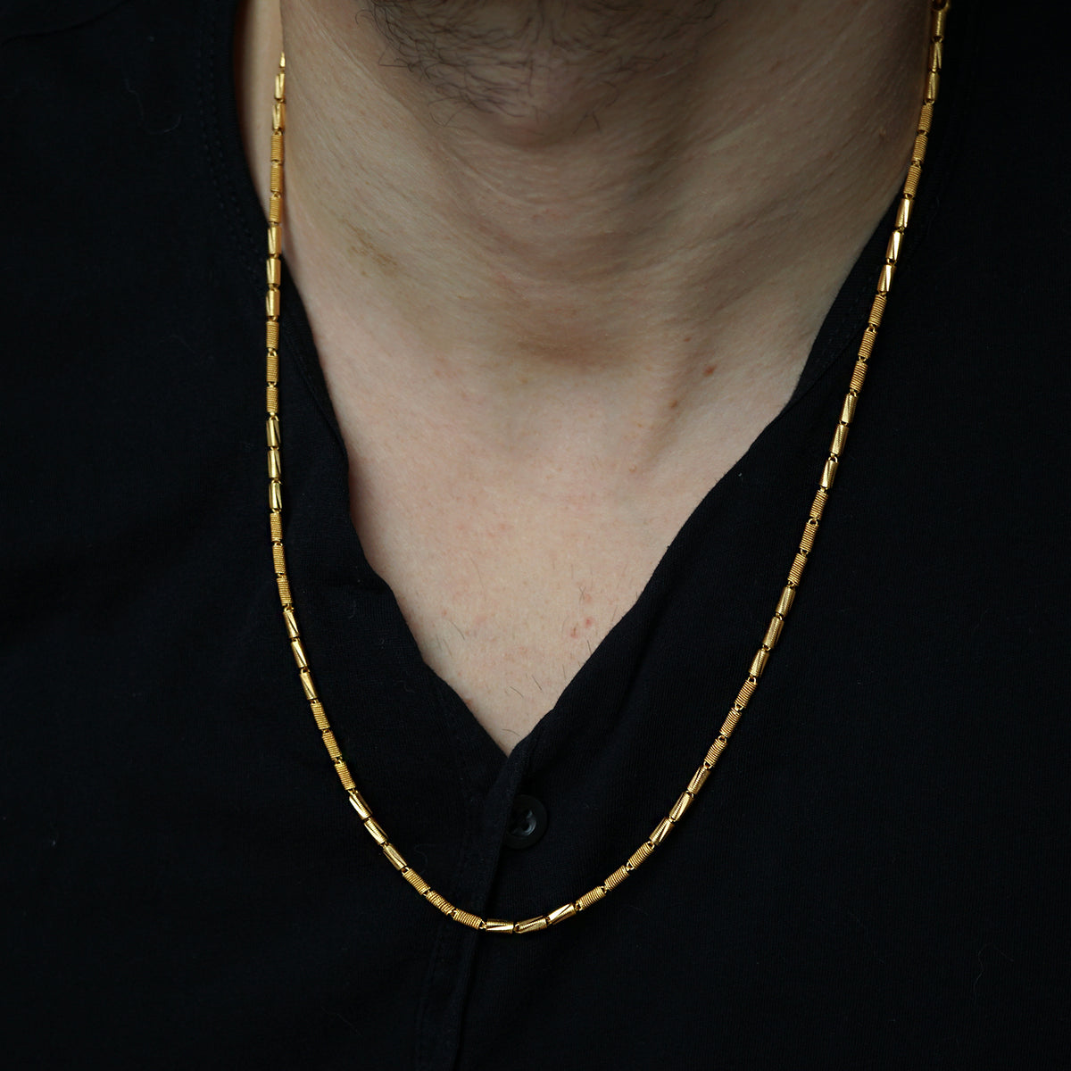Limited Edition: 22K Yellow Gold Diva Chain, 24""