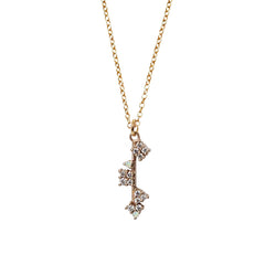 Opal Heaven Key Necklace