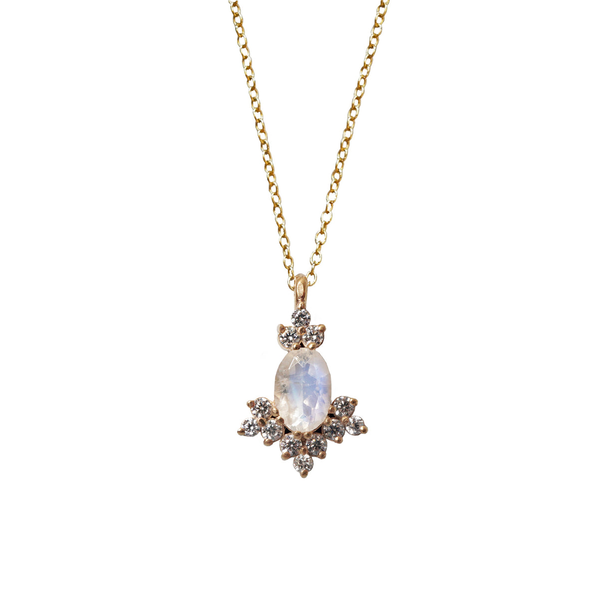 Moonstone Shimmer Necklace