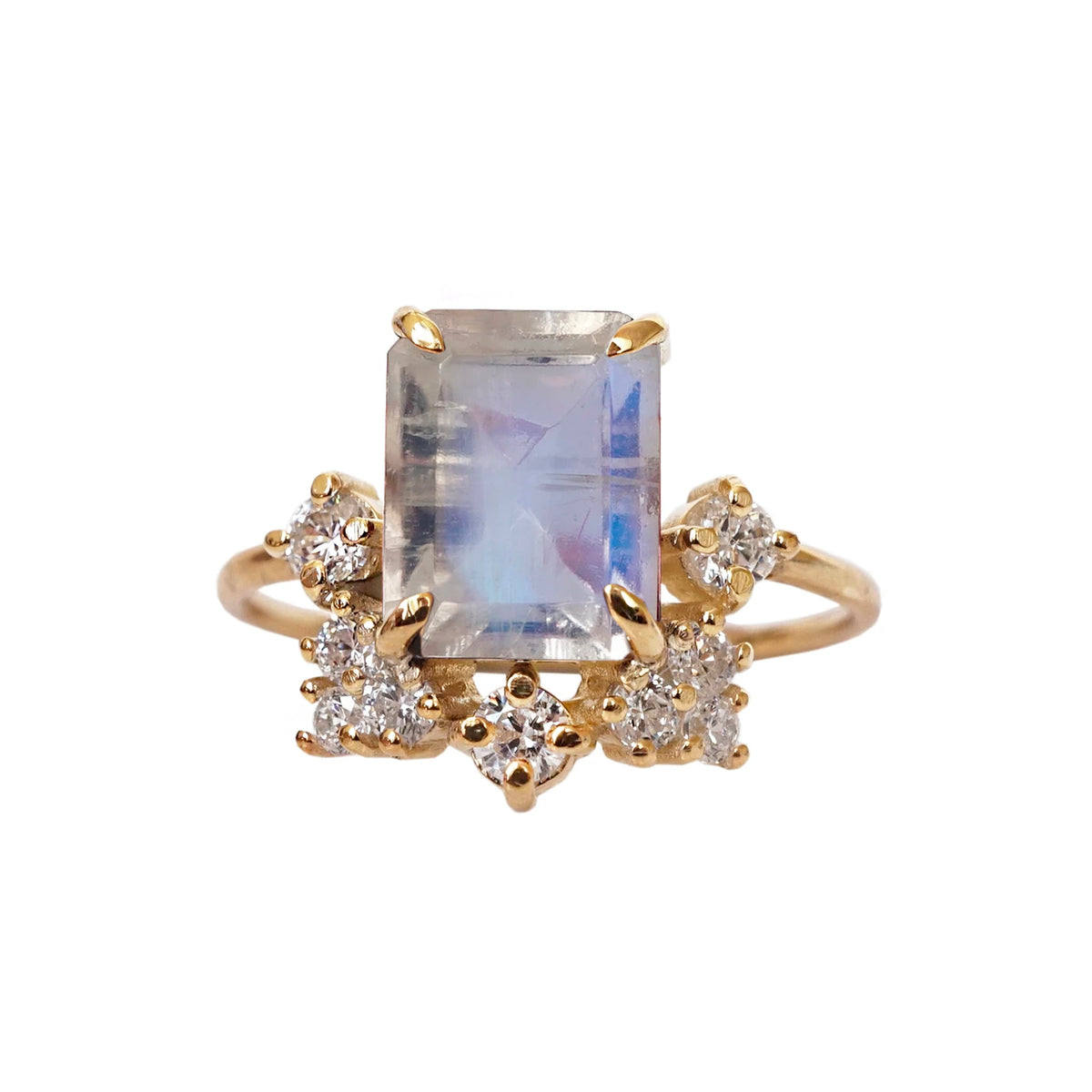 Bordeaux Moonstone Ring