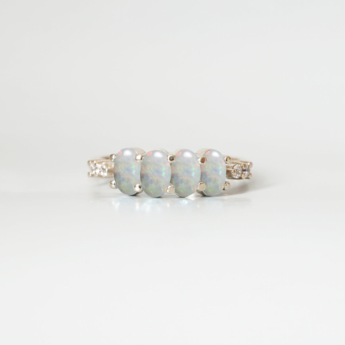 October Opal Ring - Tippy Taste Jewelry