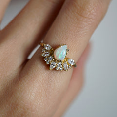Parisian Opal Ring