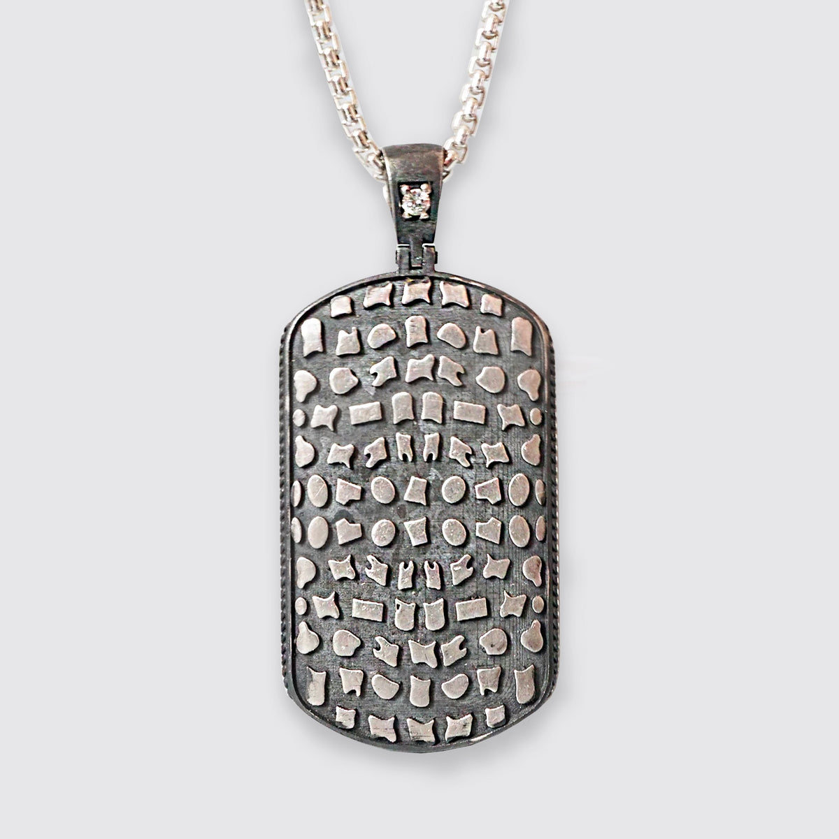 Pavement Diamond Dog Tag