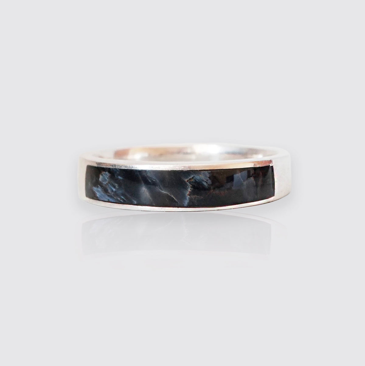 Pietersite Ring Band, 3.5mm