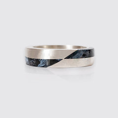 Grid Pietersite Ring, 5.8mm