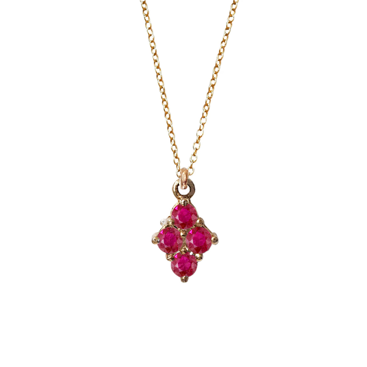 Cherry Pie Ruby Necklace