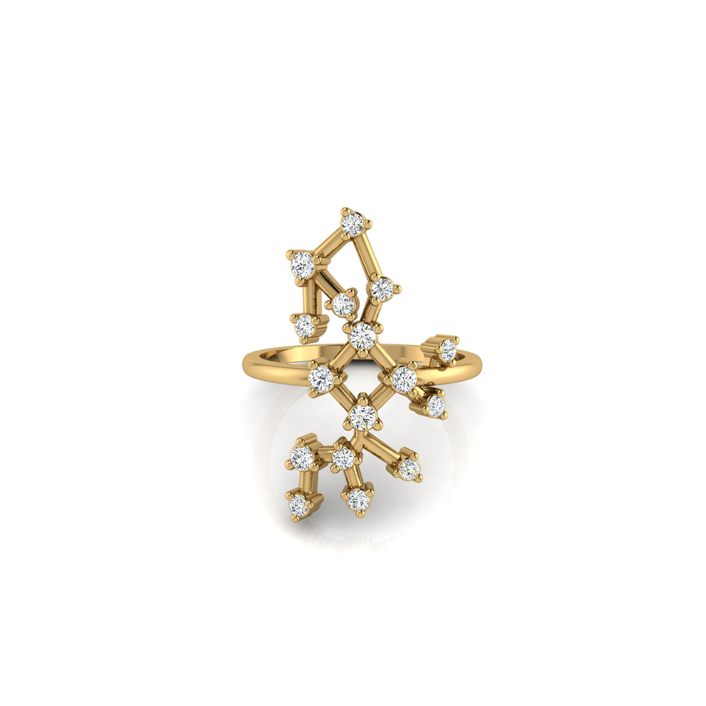 Sagittarius Constellation Ring - Tippy Taste Jewelry