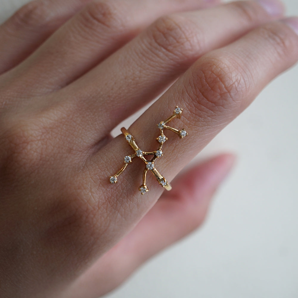Taurus Constellation Ring