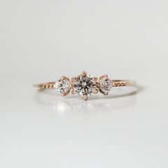 14K Tiara Diamond Ring - Tippy Taste Jewelry