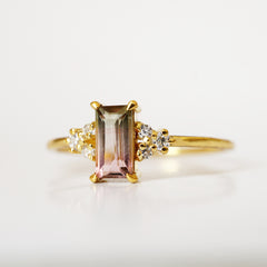 Limited Edition: Little Dewy Tourmaline Ring