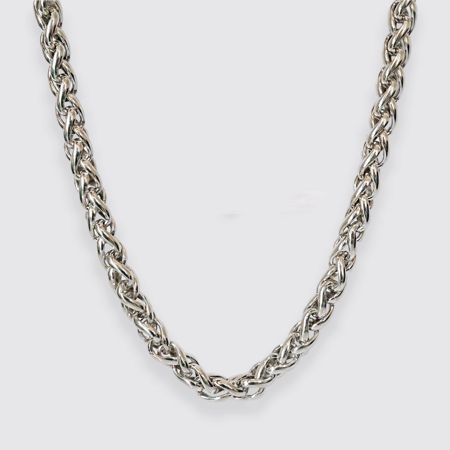 Spiral Chain Necklace, 4mm