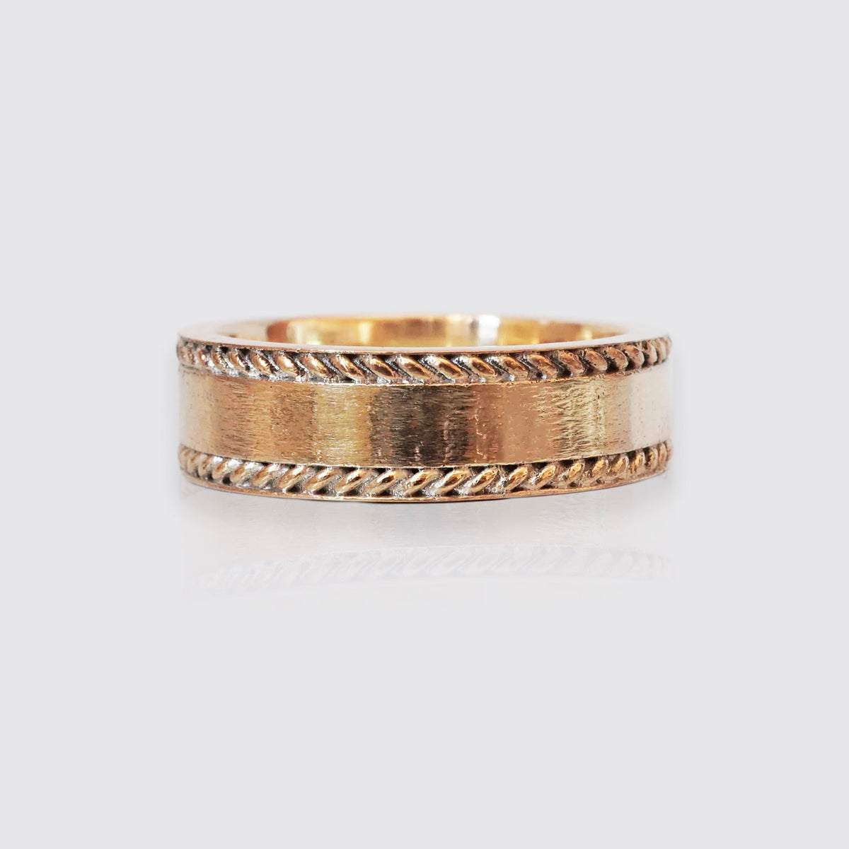 Twist Ring Band, 7mm