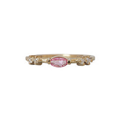 Tourmaline Venus Ring
