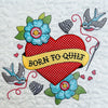 Inked - Makers Quilt for Machine Embroidery