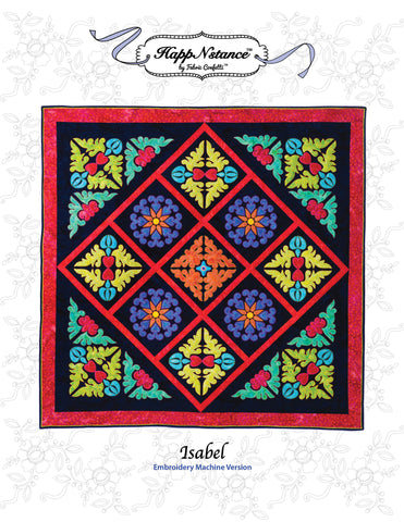 Isabel for Machine Embroidery