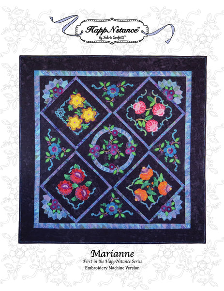 Marianne for Machine Embroidery