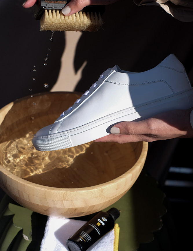 How to care for leather sneakers | KOIO