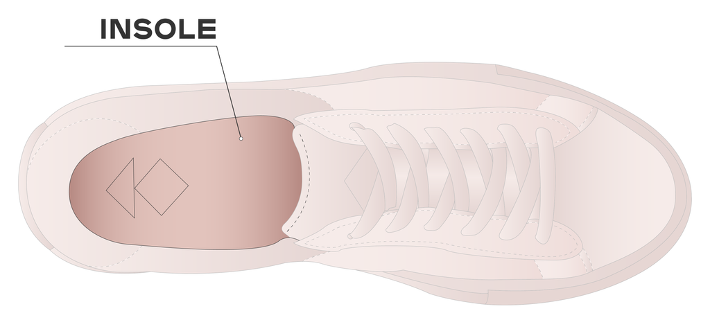 Insole of a shoe