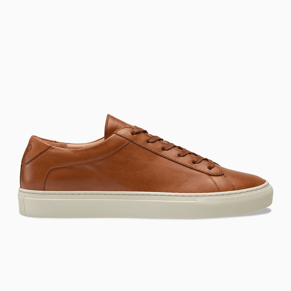 great quality outlet boutique new design Men's Low Top Leather Sneaker in Brown | Capri Castagna – KOIO