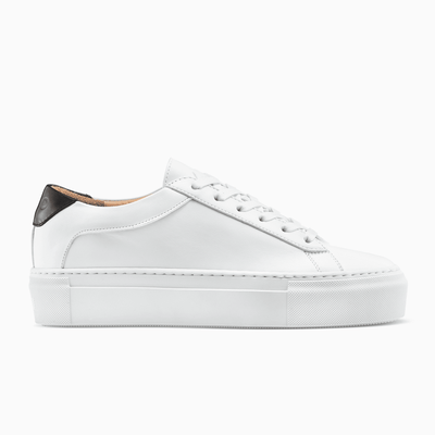 Women's Low Top White Platform Sneaker | Platform Bianco | KOIO