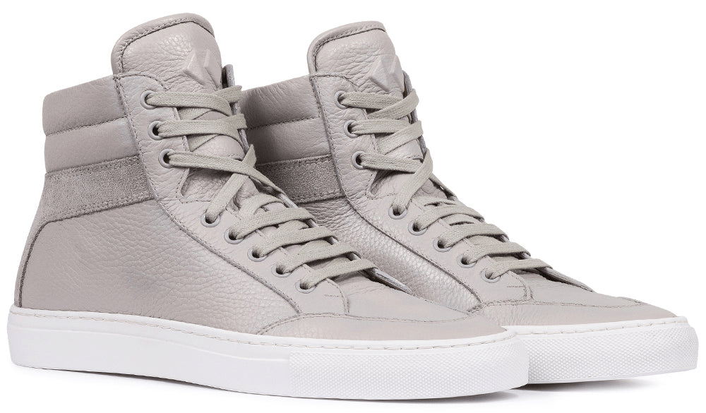 In GreyPrimo Koio – Top Men's Leather Luna Sneaker High w8yNPmnOv0