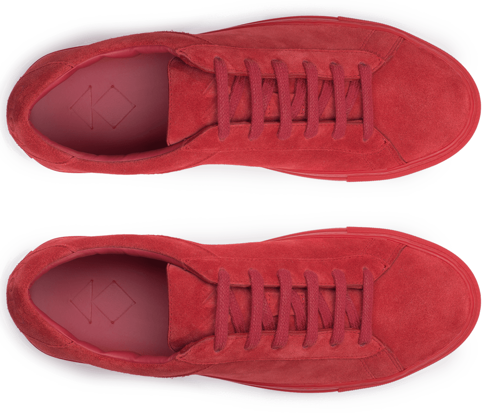 Our original low-top sneaker in supremely soft suede. Handmade in Italy.