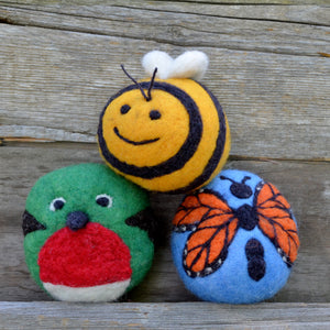 Patterned Sets - Wool Dryer Balls