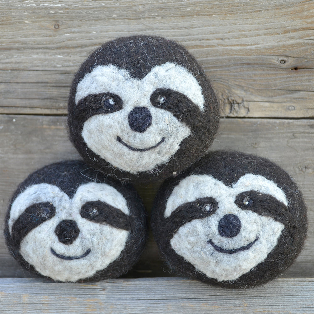 Sloth dryer balls