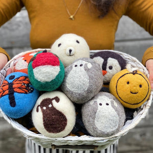 Load image into Gallery viewer, Patterned Sets - Wool Dryer Balls