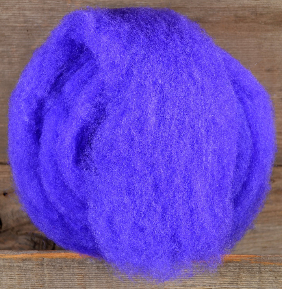 Load image into Gallery viewer, Wool Fibre Bright Purple