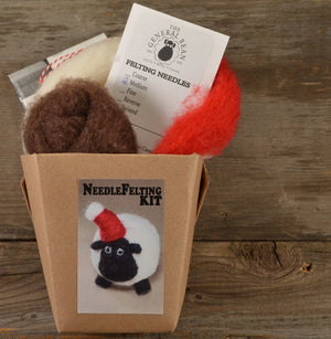 Sheep Ornament Felting Kit