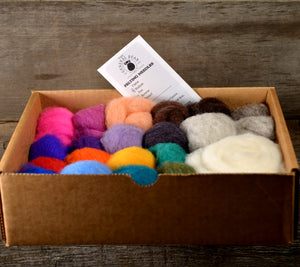 Needle Felting Color Pack Solids