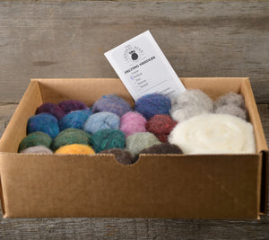Load image into Gallery viewer, Needle Felting Color Pack Heathers