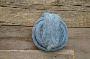 Wool Fibre Denim
