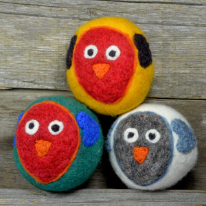 Love bird dryer balls