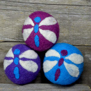 Dragonfly dryer balls