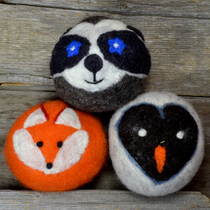 Woodland friends dryer balls